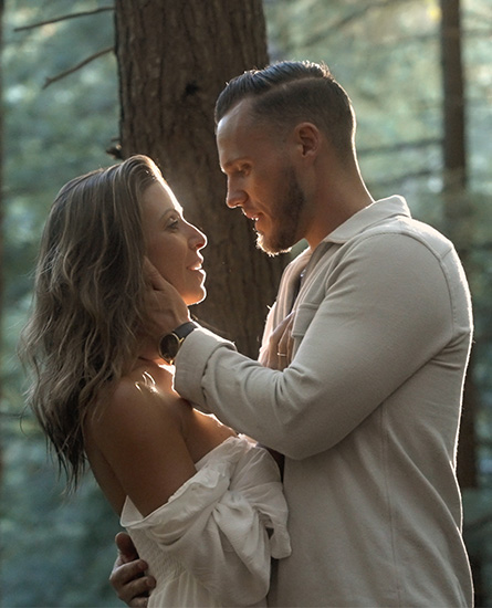 jake and melissa in the woods 2